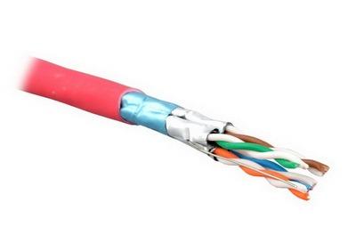 Кабель F/FTP cat.7 LSZH 4x2x23 AWG (0,58) 900 MHz FR (500m)