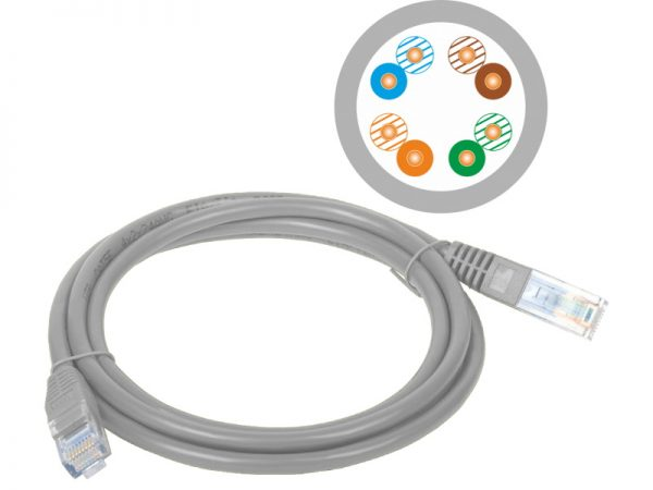 Patch-cord U/UTP cat.5e PVC 20m